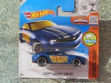 Artículos de automodelismo y aeromodelismo color principal azul Chevrolet de escala 1:64