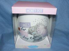 Me To You Bear Tatty Teddy Money Pot Birthday Gift Baby Christening NEW G01Q6492