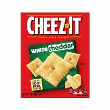 Cheez It Sunshine White Cheddar cracker, 7 Ounce - 12 per case.