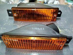 BMW E30 turn signal lights L+R !NEW! GENUINE 63131381747 63131381748