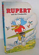 Rupert And The Cloudmobile, Hardback, Rupert Bear, 1993, Dean. Picture Board