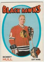 1971 71-72 O-Pee-Chee #50 Bobby Hull NM
