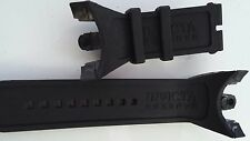 Rubber Silicone Watch Band Strap For Invicta VENOM VIPER COBRA Black 0975