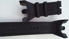Rubber Silicone Watch Band Strap For Invicta VENOM VIPER COBRA Black 0975