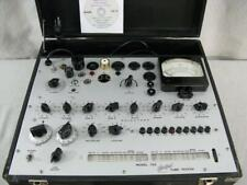 Hickok 752 Mutual Conductance Tube Tester - Calibrated - Near Perfect Specs *.*