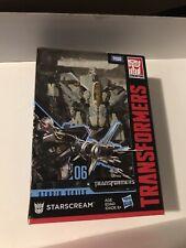 New listing transformers studio series starscream