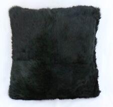 Pelz Kissen aus echtem Nerz beidseitig Schwarz
