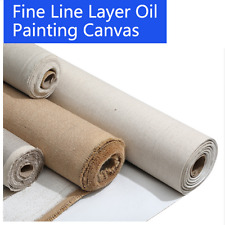 Blank Canvas Roll Oil Painting Linen Blend Primed High Quality Artist Supplies