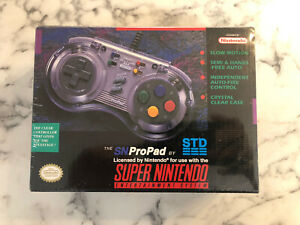 Sn Propad For Super Nintendo SNES Clear Gamepad 1994 New And Sealed Snpropad