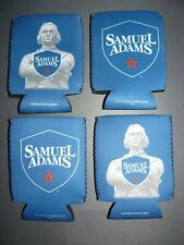 4 New Samuel Adams Can Cooler Coozie Coolie Koozie