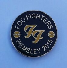 Foo Fighters Wembley Stadium 2015 Uk Cancelled Concert Tour Pin Dave Grohl