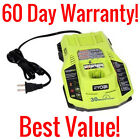 RYOBI ONE+ P117 18 VOLT DUAL CHEMISTRY BATTERY CHARGER INTELLIPORT 30 MINUTE 18V
