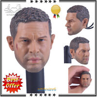 """1:6 Mad Max Man Male Head Sculpt For 12"""" Hot Toys Phicen Action Figure Bodies"""