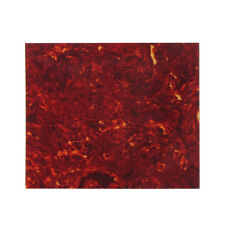 Red Tortoise Shell Celluloid Material Pickguard Blank Sheet for Acoustic Guitar