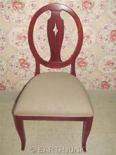 Ethan Allen Country Colors Cranberry Red on Maple Side Chair 14 6420