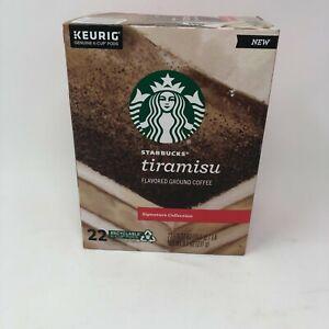 Starbucks Signature Collection Tiramisu Coffee 22 K-Cups Keurig EXP April 2021