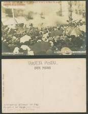 More details for spain morral affair 1906 old postcard calle mayor explosion king alfonso & queen