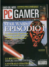PC GAMER41 1999 simcity3000,myth2,luftwaffe commander,dark side of the moon,