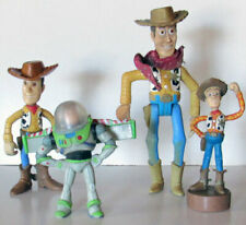 Lot of 4 Toy Story Figures Woody  & Buzz Lightyear