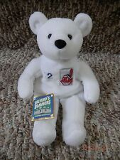 Cleveland Indians Roberto Alomar Salvino's Bammers Bear Plush 1999 Chief Wahoo