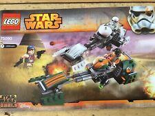 Lego Star Wars 75090 ezras Speeder bike.