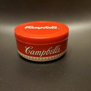 VINTAGE Campbell's Soup Insulated Travel Soup Bowl Container 2002