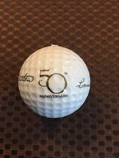 PING GOLF BALL-WHITE KARSTEN LOUISE 50TH ANNIVERSARY LOGO..9.8/10...HARD FIND!!