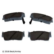 Disc Brake Pad Set Front Beck/Arnley 085-1369