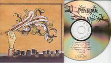 ARCADE FIRE Funeral 2004 UK 10-trk promo test CD