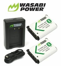 Wasabi Power Battery Kit (2-Pack) and Dual Charger Set for Sony NP-BX1 NP-BX1/M8