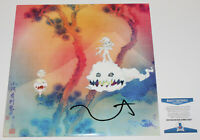 RAPPER KANYE WEST SIGNED KIDS SEE GHOSTS VINYL ALBUM RECORD LP BECKETT COA BAS