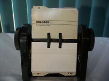 Vtg Rolodex Rbc 400 Business Card File Plastic Business Card Holders Usa Made