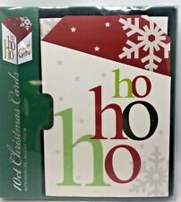 Home For The Holidays 10 Glitter Snowflakes Christmas Cards And Envelops