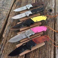 5PC ASSORTED SET ELK RIDGE BALLISTIC Spring Assisted Open Folding Pocket Knife!