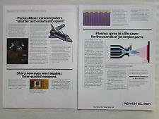 3/1980 PUB PERKIN ELMER MINICOMPUTERS SPACE SHUTTLE LASER WARNING RECEIVER AD