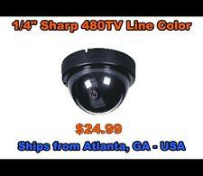 "1/4"" Sharp 480TV Line Color Dome"