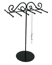 Black Metal Wire Necklace Chain Display - BD261-117
