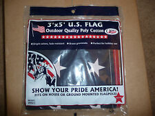 American U.S.A. Flag 3' x 5' Quality with Brass Grommets Proudly Made in U.S.A.