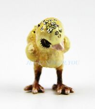 Jay Strongwater Glenn Mini Chick Figurine With Box