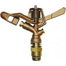 HR Products 2012X FULL CIRCLE BRASS IMPACT SPRINKLER 4.6x3.2mm Dual Nozzle