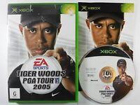 Tiger Woods PGA Tour 2005 Xbox Original MINT DISC