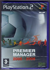 PS2 Premier Manager 2005-2006 (2005), UK Pal, Brand New & Sony Factory Sealed
