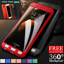 Hybrid 360 Shockproof Case Cover Screen Protector For Samsung Galaxy A3 A5 A6 A7