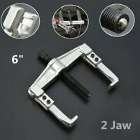 """6""""Heavy Duty Disassemble 2-Jaw Chrome Gear Hub Bearing Puller Extractor Remover"""