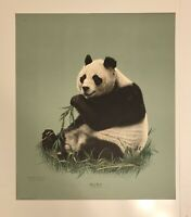 "Charles Frace Giant Panda 21""x24  1/2"""