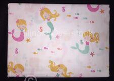 NEW! Authentic Kids MERMAIDS 4PC Full Size Sheet Set 100% Cotton