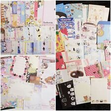 Kawaii Stationery Lot Grab Bag Memo Sheets Letter Set Paper 7