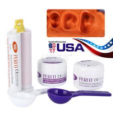 Dental Putty Impression Silicone Material 50g*2& Light Body50ml Wash