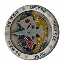 US Air Force Top 3 Misawa Air Base Japan Challenge Coin