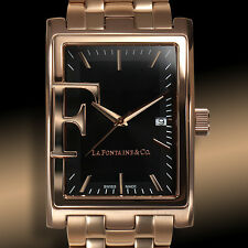 La Fontaine & Co Frizon Swiss Made Mens Watch / MSRP $1,475.00